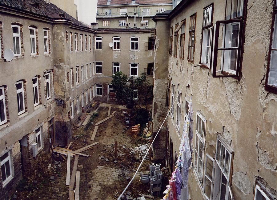Innenhof vor Sanierung (C) MA25